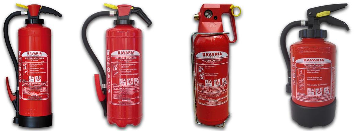 Wir informieren pber die passende Brandschutztechnik für Ihren individuellen Bedarf.